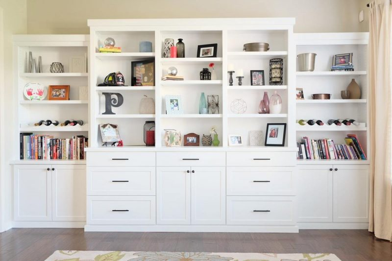Custom Built In Shelving Indianapolis 6