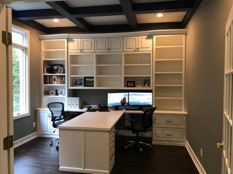 Custom Home Office Indianapolis 2