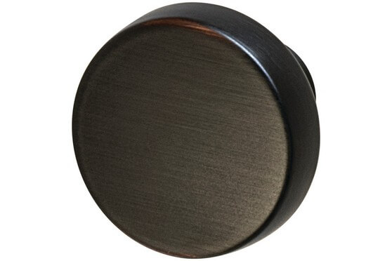 Amerock Blackrock Collection Round Knobs Single