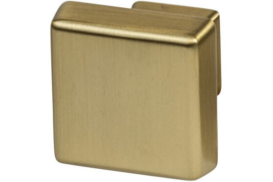 Amerock Blackrock Collection Square Knobs Single