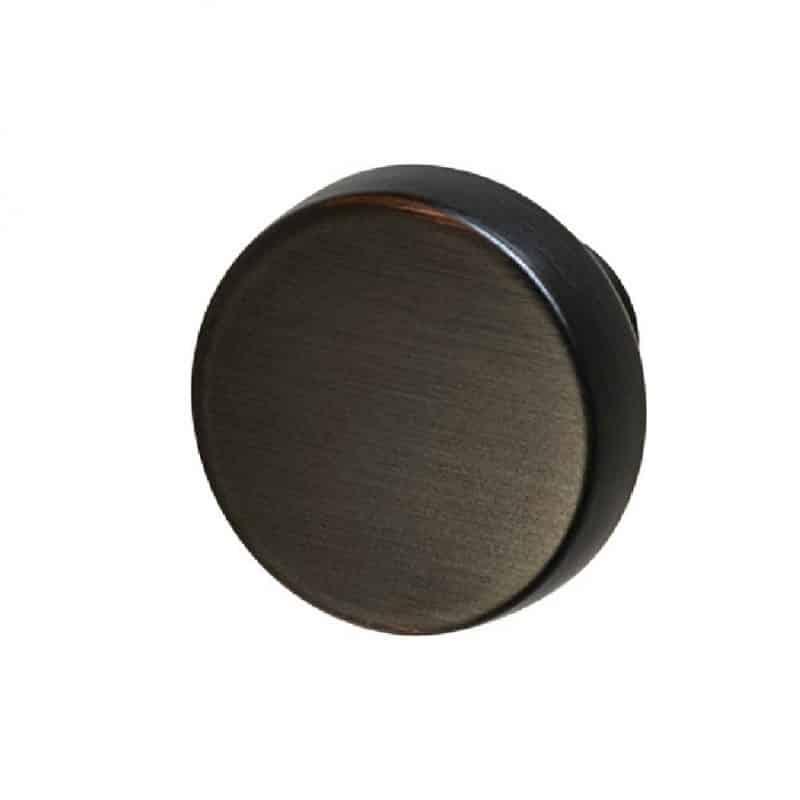 Amerock Blackrock Round Knobs Oil Rubbed Bronze, Black Bronzed, Gold Champagne, Satin Nickel, Polished Nickel (1)