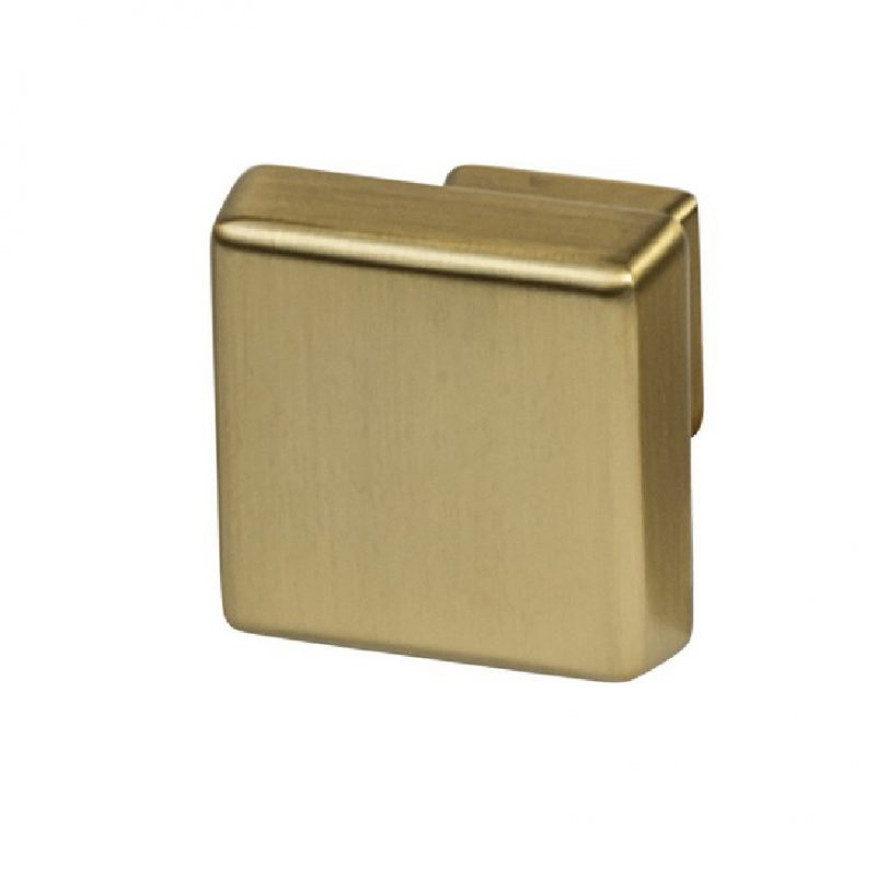 Amerock Blackrock Square Knobs Oil Rubbed Bronze, Black Bronzed, Gold Champagne, Satin Nickel, Polished Nickel (1)