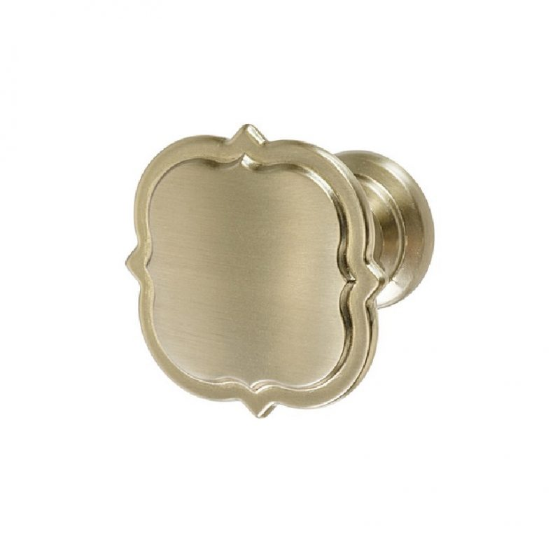 Amerock Grace Revitalize Knob Oil Rubbed Bronze, Gold Champagne, Satin Nickel, Polished Nickel (1)