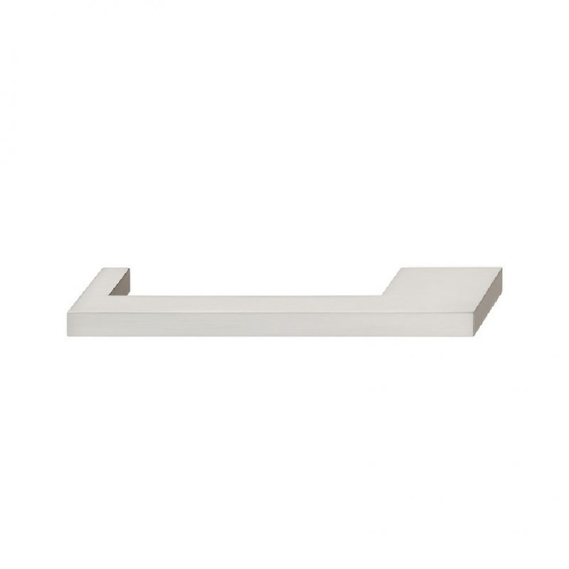 Nouveau Collection Square Pulls Polished Chrome, Brushed Nickel (1)