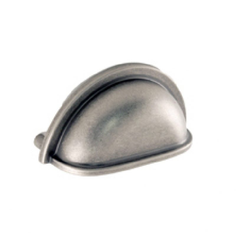 Select Collection Cupped Pull Weathered Nickel, Oil Rubbed Bronze, Satin Nickel (1)