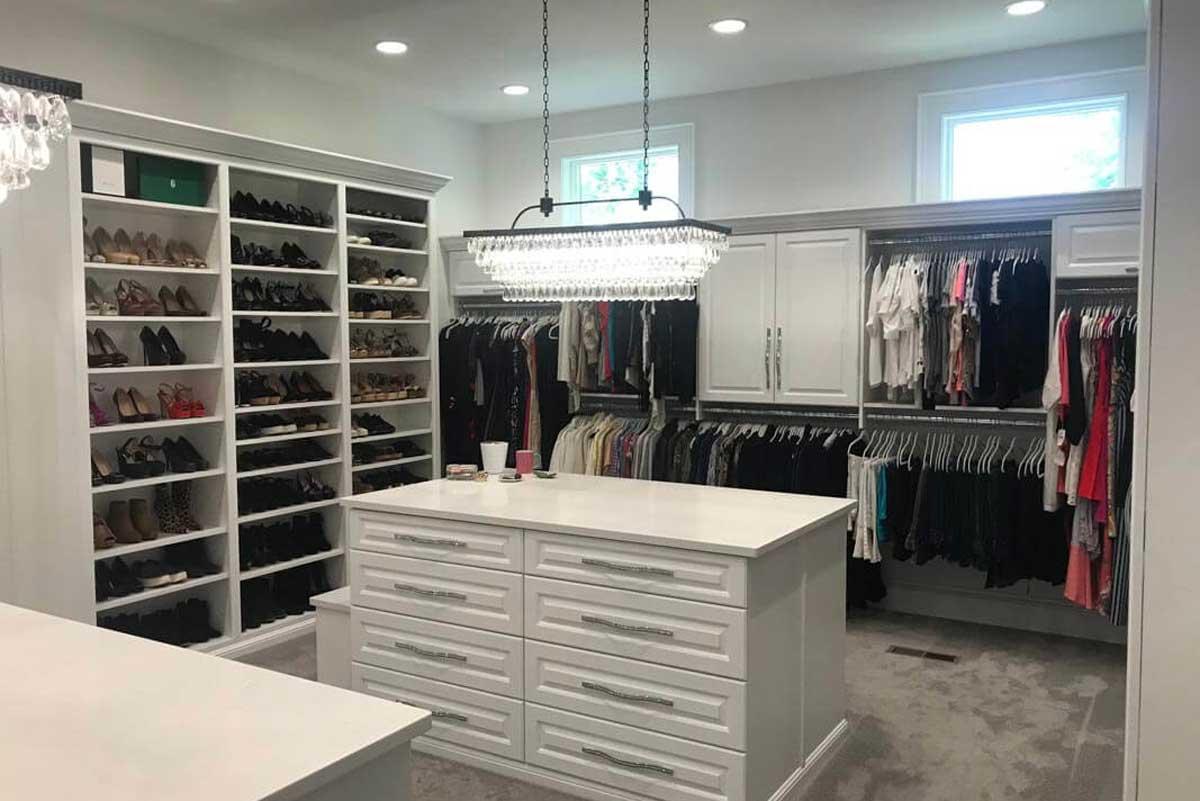 Custom Closet Design Indianapolis
