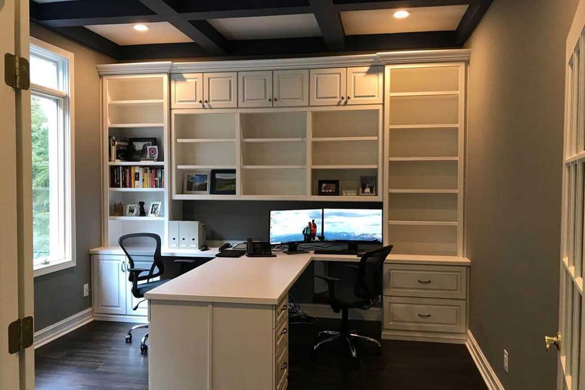 Custom Home Office Indianapolis Lp4